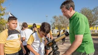 Los talleres del Parque Astronómico llegaron a la Escuela Generativa del Club GEPU