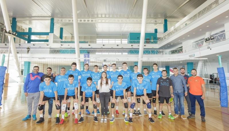 La Selección de Vóley Masculino U21 eligió el Campus ULP para su preparación