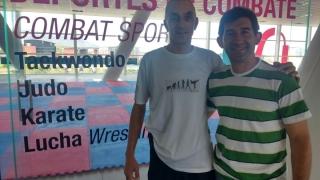 El entrenador de la Selección Argentina de Taekwondo se sorprendió con el Campus