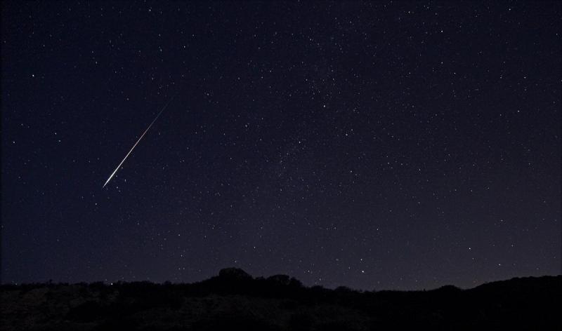 Una espectacular lluvia de estrellas Oriónidas invadirá el cielo puntano