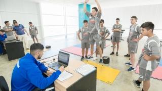 La 5ta división de Colegiales de Villa Mercedes pasó por el laboratorio de biomecánica