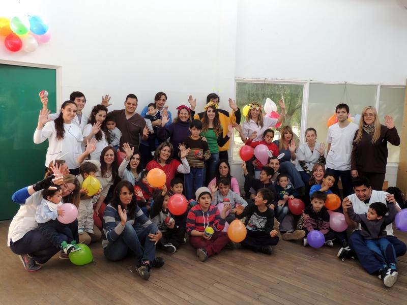 Pequeños que asisten al Hospital de San Luis disfrutaron de los talleres de Arte y Juego de la ULP