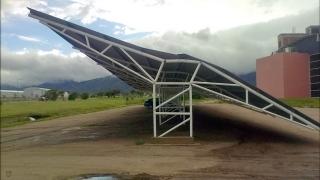 El temporal causó daños materiales en el campus de la ULP
