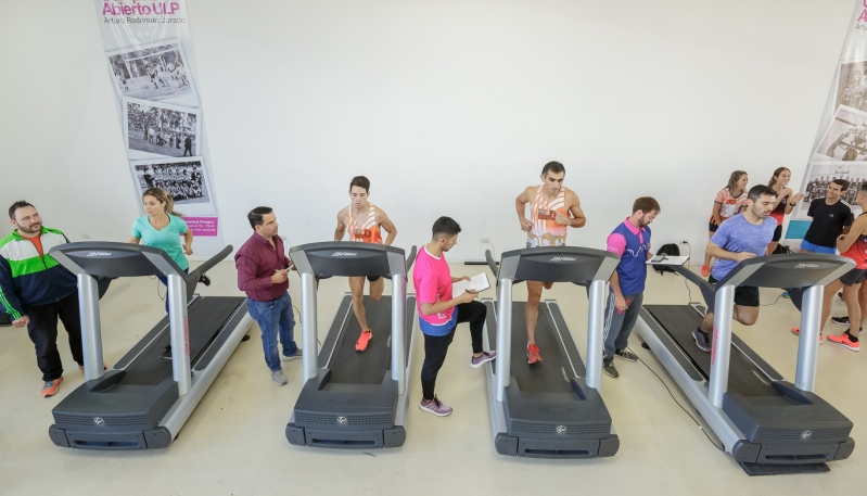 Atletas de Run Urbano fueron testeados en el Campus