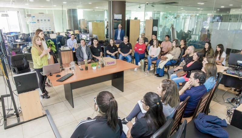 Personal de Centro de Emergencias 911 recibieron una capacitación sobre Mediación Judicial