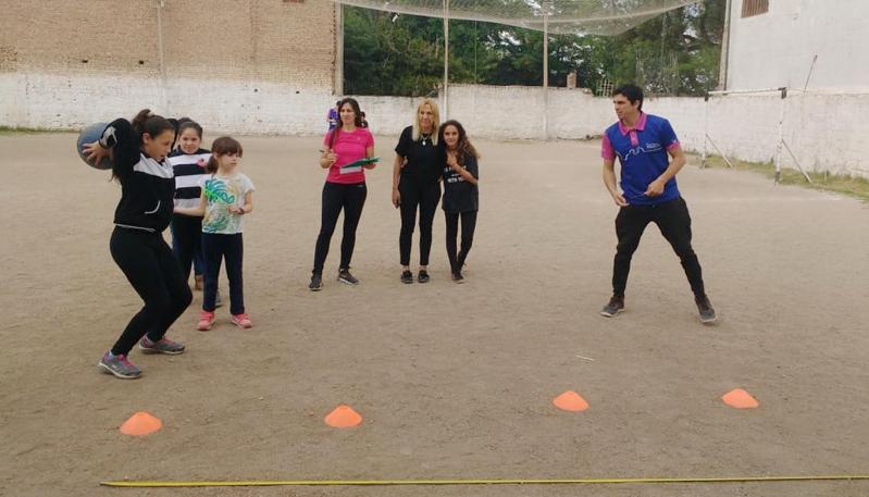 Corazón Victoria recibió las evaluaciones deportivas del Campus Abierto ULP