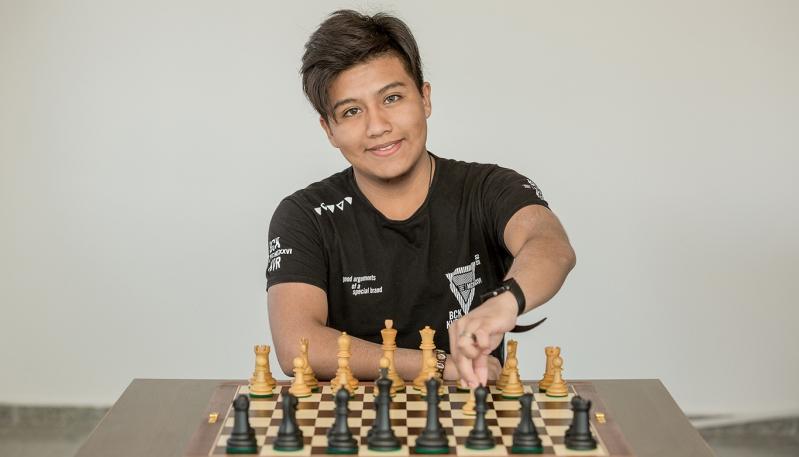 Pablo Acosta se encuentra desplegando todo su talento en el Final del Campeonato Argentino Superior