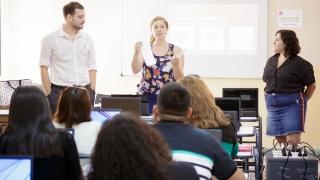 Cuatrocientos docentes aprenden a programar en la ULP
