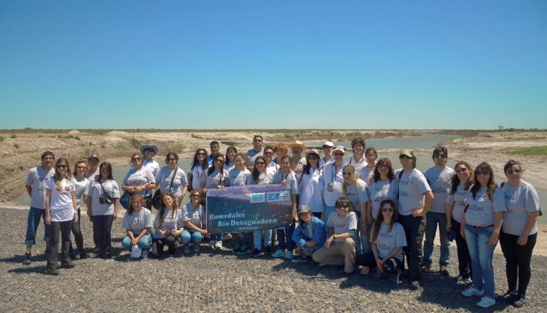 Conciencia ambiental y ecológica en los Humedales del Río Desaguadero