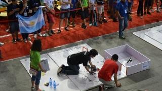 La pasión y el compañerismo argentino se hicieron sentir en China