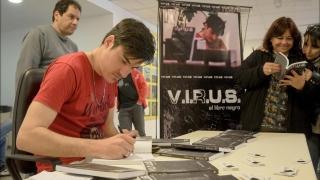 V.I.R.U.S., el nuevo proyecto literario de un egresado de la ULP