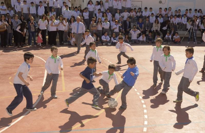 Educación y vida sana para los chicos de la EPD Albert Einstein