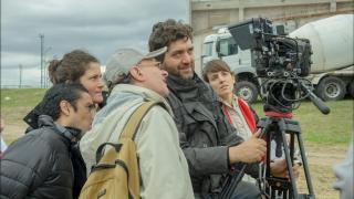 Alumnos de la ULP dan sus primeros pasos profesionales con  uno de los referentes del cine nacional