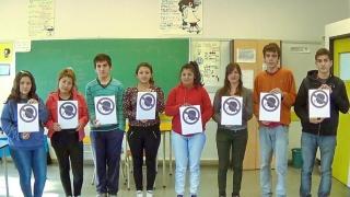 Los chicos de la EPD Isaac Newton y un corto  para reflexionar sobre la violencia