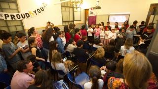 Más de 300 alumnos del Instituto de Idiomas sede San Luis recibieron sus certificados