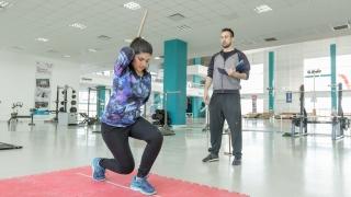 Guadalupe Besso comenzó a entrenar en el Campus
