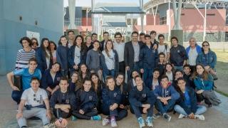 """""""Queríamos que nuestros alumnos vieran con sus propios  ojos todo lo bueno que está pasando en San Luis"""""""