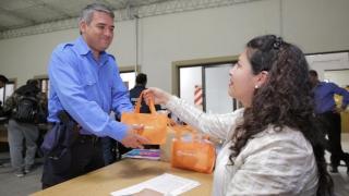 Los policías de Concarán y localidades aledañas ya cuentan con su tableta