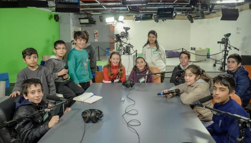 Vacaciones de Invierno: los chicos de La Punta se entretienen con los talleres de la ULP