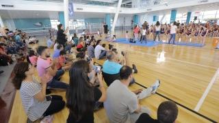 La gimnasia artística brilló en el Campus de la ULP
