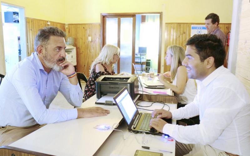 La municipalidad de La Toma se sumó a los beneficios de la digitalización