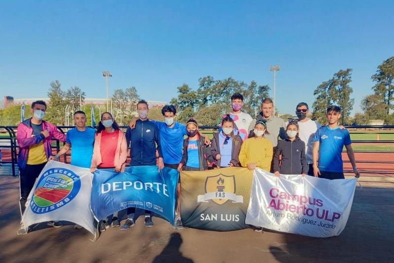 Atletas del Campus ULP sumaron experiencia y buenas marcas en el CeNARD