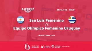Un combinado puntano se medirá con el equipo femenino olímpico uruguayo