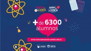 En 2 semanas más de 6 mil alumnos se sumaron a la plataforma de ciencias de la ULP