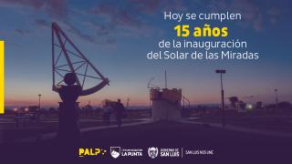 El Solar de las Miradas cumple 15 años