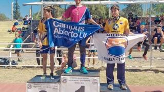 El equipo de atletismo del Campus regresó de Mendoza con una buena cosecha de medallas