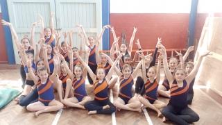 Destacada actuación de las gimnastas del Campus