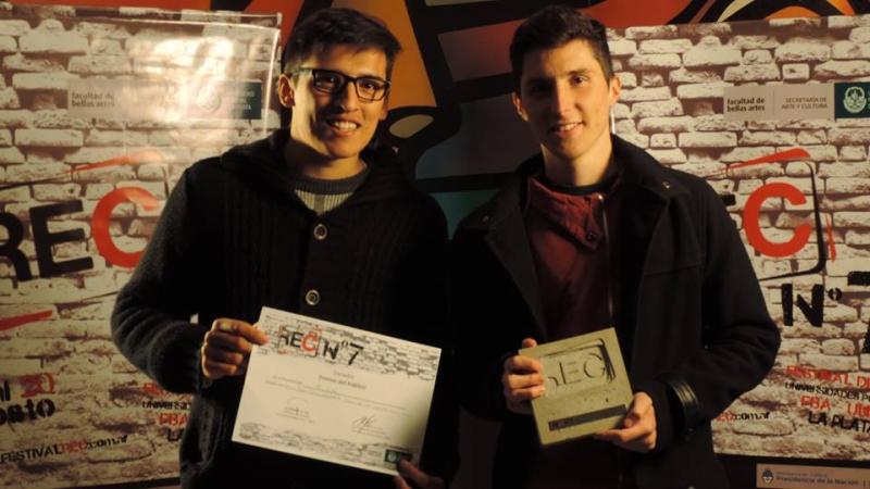 """El corto """"A war"""" ganó el premio del  público en el Festival REC de La Plata"""