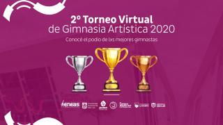 Más de 210 gimnastas brillaron en el 2° Torneo Virtual
