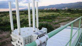 Tareas de mantenimiento en la red provincial de fibra óptica