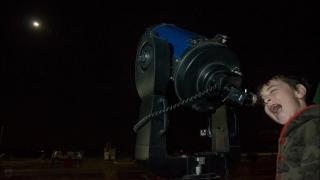 "La ""Luna Roja"" del 27 de septiembre comenzó a vivirse en el PALP"