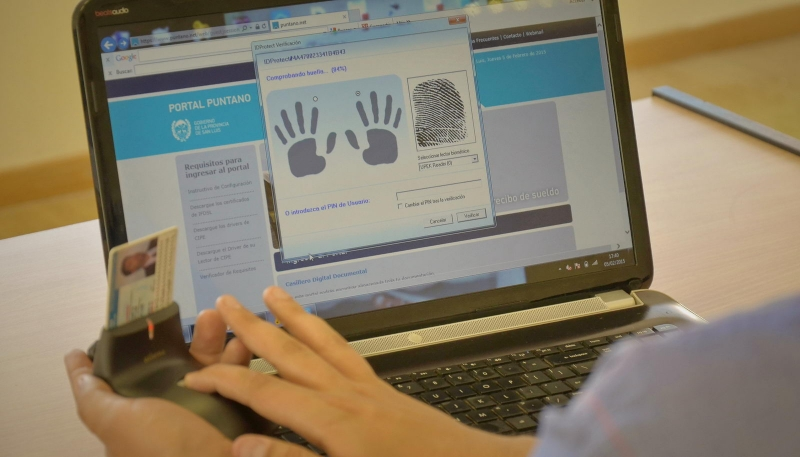 Autoridades de la Jefatura de Gabinete de la Nación  destacaron el avance de la Firma Digital sanluiseña