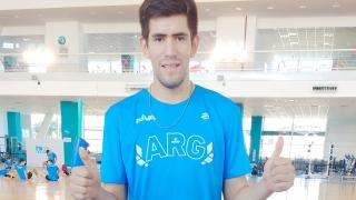 Sergio Frías, el puntano de la Selección U21 de Vóley