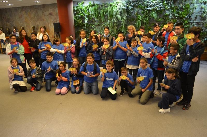 Foldscope: 259 alumnos de diferentes escuelas de San Luis fueron seleccionados como embajadores de la ULP