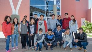 Alumnos de Leandro N.  Alem conocieron la ULP