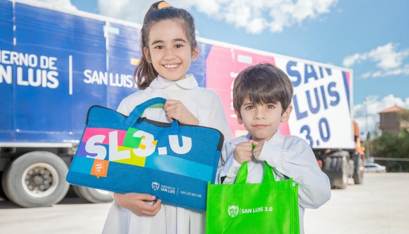 Esta semana se entregarán tabletas y netbooks en Carpintería, San Luis, San Francisco y Concarán