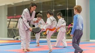 El taekwondo, un arte marcial que se desarrolla para toda la comunidad sanluiseña