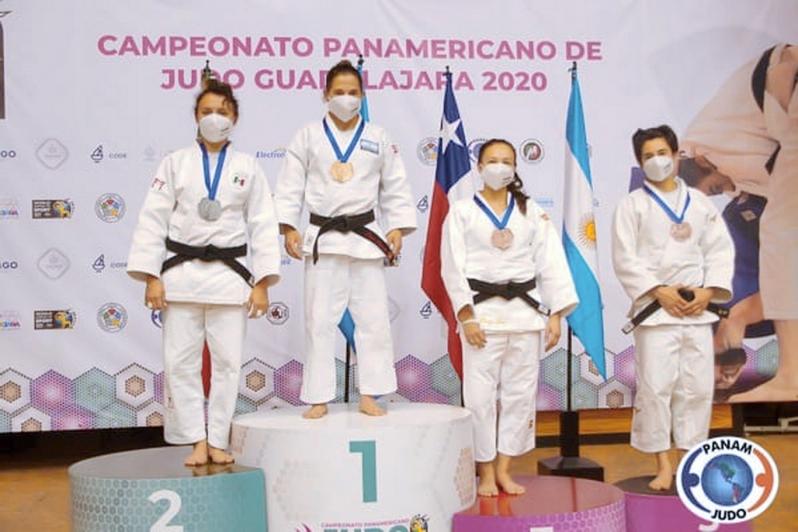 Keisy Perafán se colgó la medalla de bronce en el Panamericano de Judo