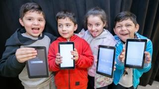 Villa Mercedes: Los alumnos de 1º grado reciben su tableta este lunes y martes