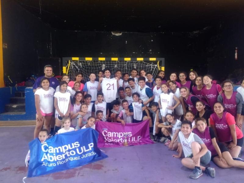 Los equipos de handball vivieron su primera experiencia fuera de San Luis