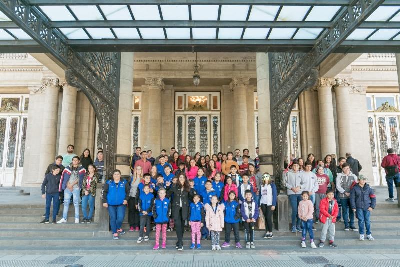 Alumnos de San Luis regresaron de Buenos Aires con enriquecedoras experiencias