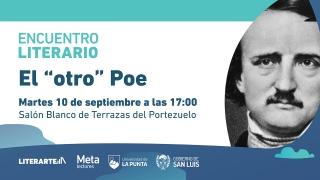 """Edgar Allan Poe, """"el maestro del terror"""", será protagonista del 2°encuentro literario de la ULP"""