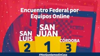 San Luis y San Juan tuvieron una apasionante definición en el Torneo Federal de ajedrez on line