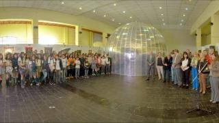 La experiencia cósmica del planetario  inflable llega a las escuelas de San Luis