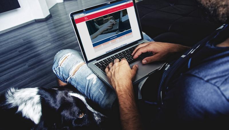 La ULP procesa las preinscripciones para las carreras virtuales