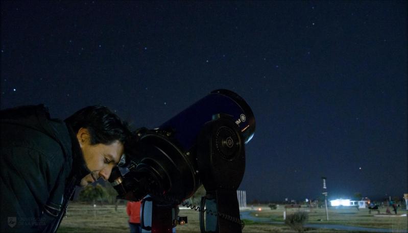 Mercurio juega a las escondidas en el cielo puntano